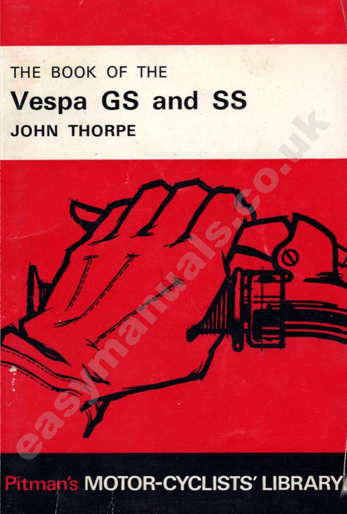 Vin Number Scanner >> The Book of the Vespa GS & SS 1955-1968