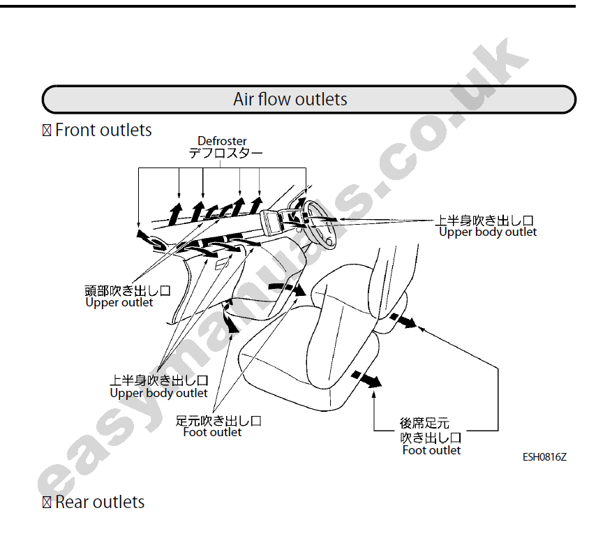 nissan elgrand wiring diagram e50 nissan elgrand owners manual free download