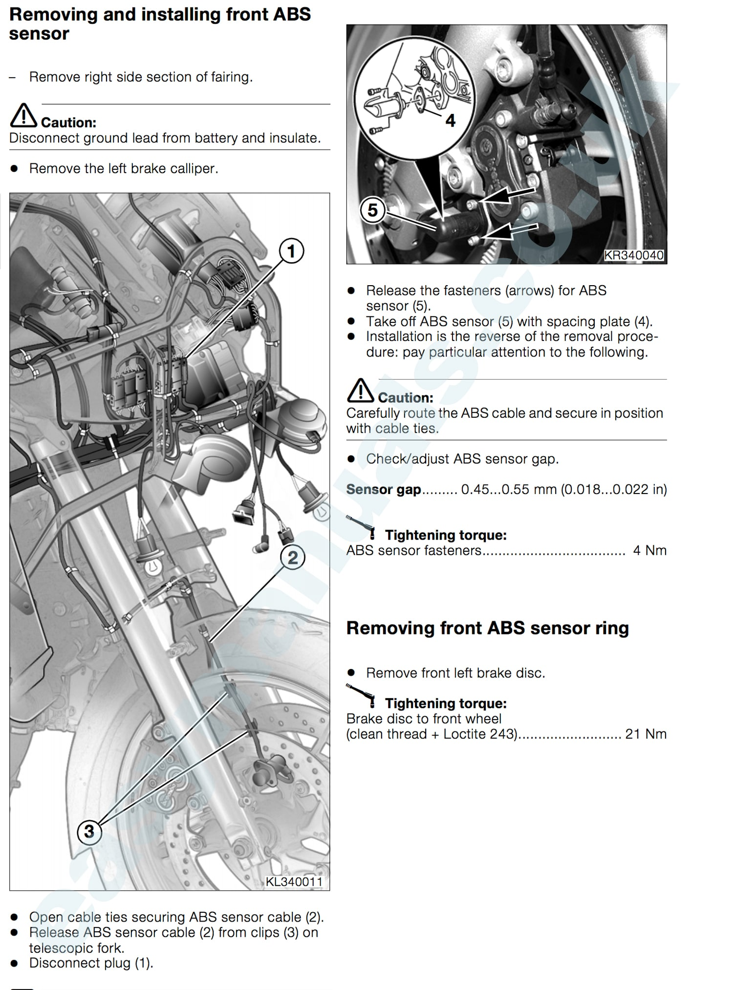 ... Array - bmw k1200 lt motorbike pdf workshop service u0026 repair manual  rh easymanuals ...