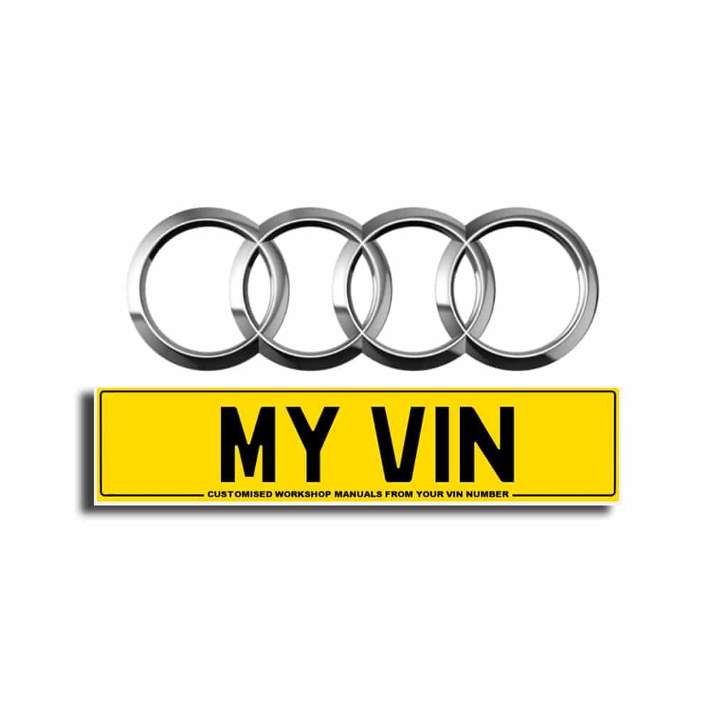 Audi, Audi VIN Manuals, VIN Workshop Manuals, Car Manuals