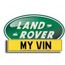 Land Rover VIN Manuals