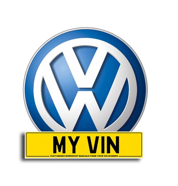 Genuine vw pdf workshop manual created by vw from any vin number -.